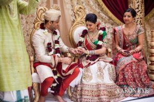 Hindu wedding ceremony tradition scarf binding Tying the Knot, wedding ceremony traditions we love
