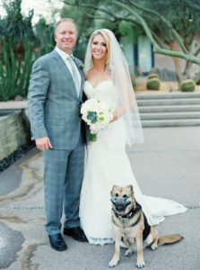 Dog as a ringbearer and having pets in your wedding