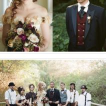 Steampunk Bridal Party