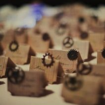 Steampunk Name Cards