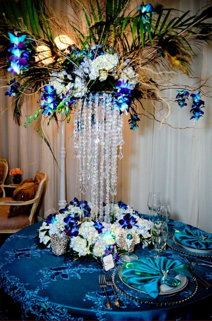 Oh The Things We Love Peacock Themed Weddings