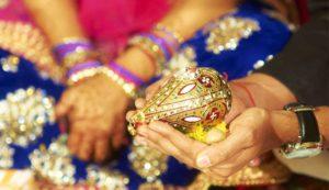 Hindu Engagement Ritual