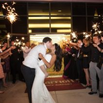Phoenix Arizona Wedding Sparkler Exit