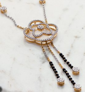 Sampat Jeweller Custom Mangalsutra Hindu wedding sacred jewelry