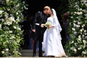 Prince Harry and Meghan's Royal Wedding after their wedding at St. George's Chapel.