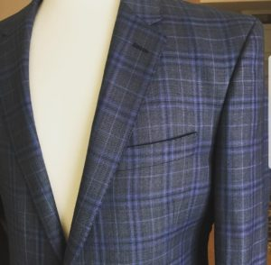 Q Contrary, our vendor spotlight, finished sports jacket