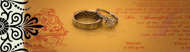 Hindu wedding rings
