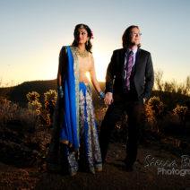 Multicultural Hindu Desi American Wedding Apropos Creations 16