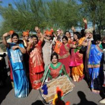 Baraat with Dholi Player