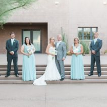 Lauren and Denny Bridal Party