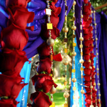 Fusion Wedding Mandap Garlands