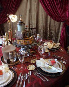 http://weddingphotography.com.ph/12390/bizarre-steampunk-inspired-wedding-style-ideas/
