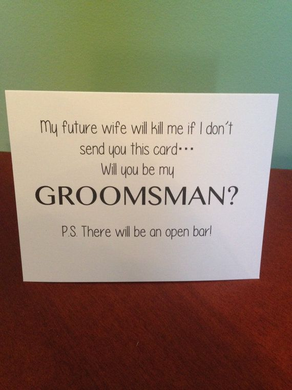 https://www.etsy.com/listing/168633901/funny-will-you-be-my-groomsman-card