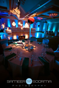 Uplighted Wedding Decor Indian