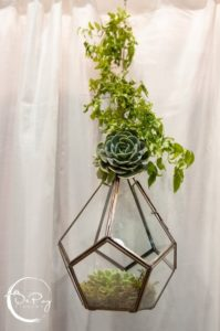 Terrarium Centerpiece Elegant Luxury Wedding (3)
