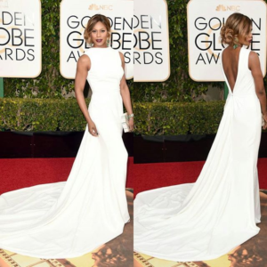 Laverne Cox 2016 Golden Globe Awards
