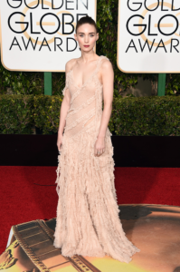 Rooney Maras Golden Globe Awards