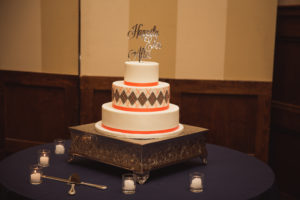 Argyle designed cake