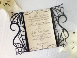 gothic-spider-web-halloween-wedding-invitation-laser-cut-gatefold-diy-kit-spooky-love-heart-party