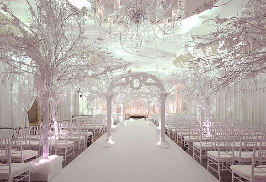 Oh The Things We Love… Winter Wonderland Weddings!