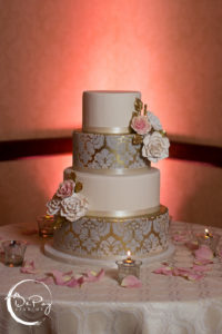 Hindu inspired Wedding cake