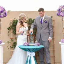 Sand Ceremony Arizona Wedding
