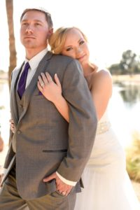 Megan and Jacob's Purple and Teal Nuptial