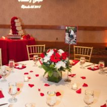 Wedding Guest Table Set