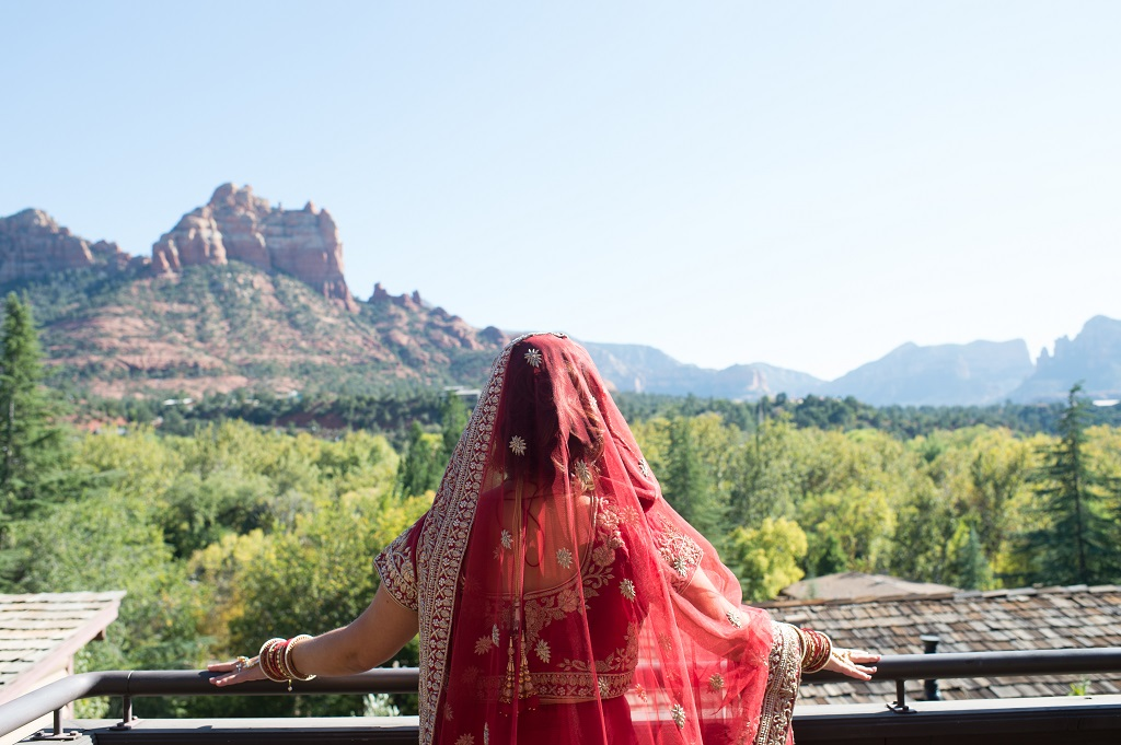 Bliss… Real Wedding = Erin + Jigar's Multicultural Wedding
