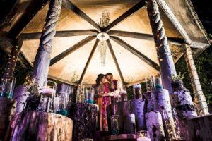 Shama and Tyrus Tucson Arizona Hindu Fusion Wedding Sangeet at La Mariposa Resort