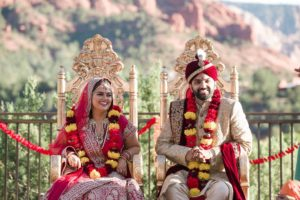 Erin and Jigar's Multicultural Wedding at L'Auberge de Sedona Hindu Wedding