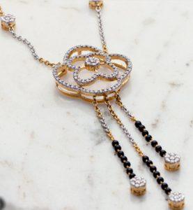 Sampat Jeweller Custom Mangalsutra Hindu wedding sacred jewelry