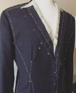 Q Contrary, our vendor spotlight, custom sports jacket