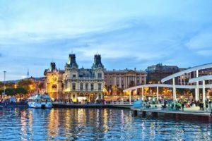 Destination Wedding Of A Lifetime in Barcelona- Port Vell