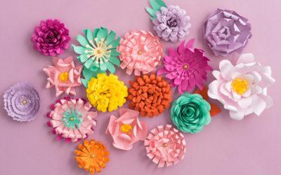 Paper Flowers: Stunning Wedding Flower Alternatives