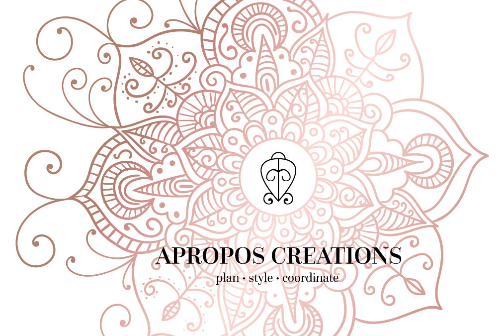 Apropos Creations Newly Designed Website and Logo