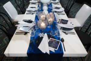 NACE Tantalizing Tables Winter Wonderland Theme