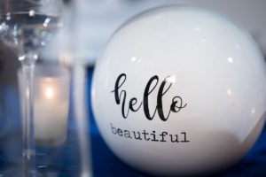 NACE Tantalizing Tables Blue and White Winter Wonderland Theme Hello Beautiful