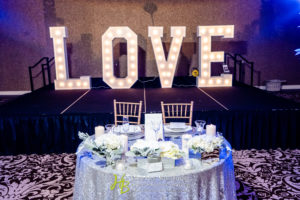 News Announcement: Congratulations to Chateau Luxe's 5th year anniversary! Sweetheart Table