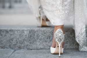 This year's best bridal footwear Gorgeous shoes by Badgley Mischka