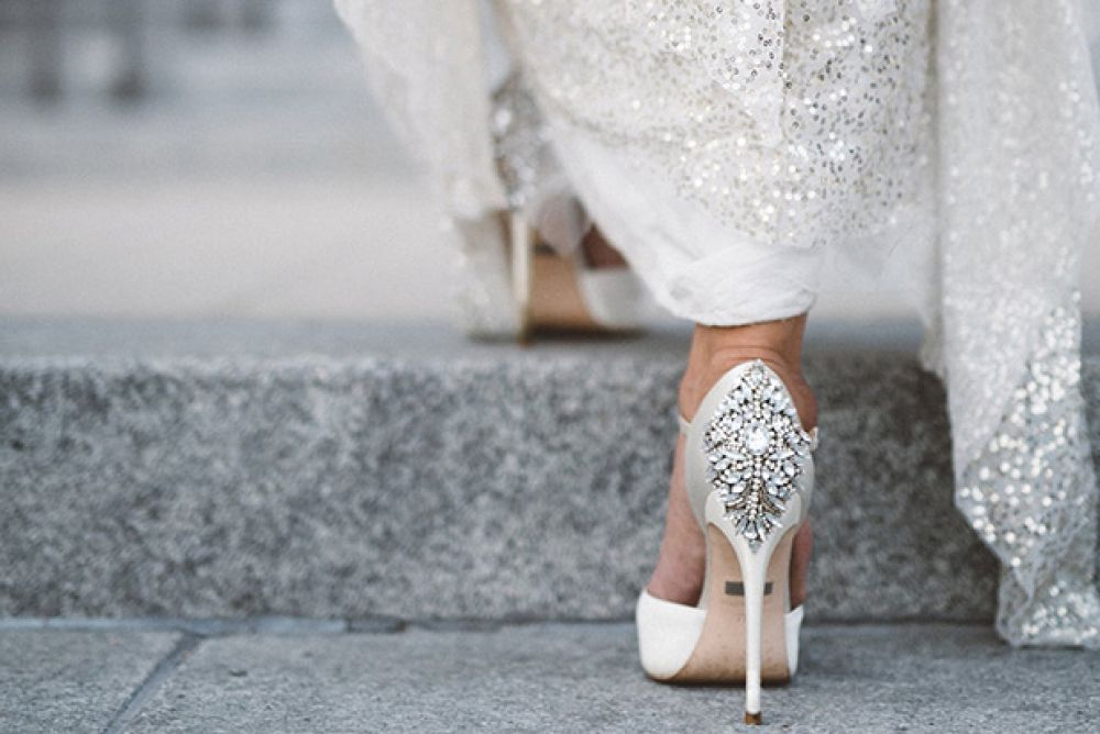 This Year's Best Bridal Footwear